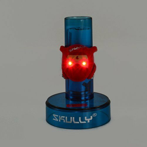 Red 2 x Red LED/'s SKULLY Ninite Ninja With a Scar LED Rear Light