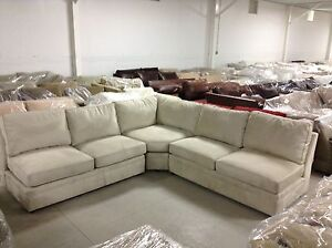 Image Is Loading Pottery Barn PB Pearce Sofa Sectional Couch EVERYDAY