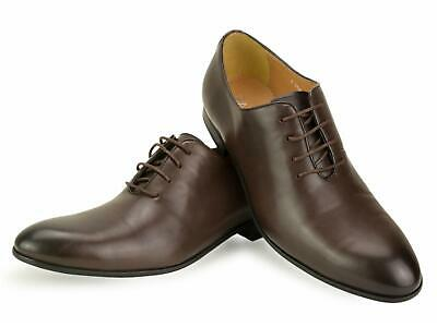 Brown Leather Oxford Shoes Formal