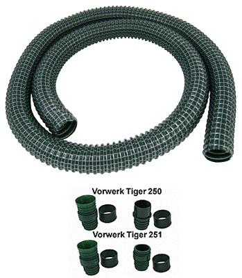 Reparaturschlauch Schlauch REISSFEST geeignet für Vorwerk Tiger 250