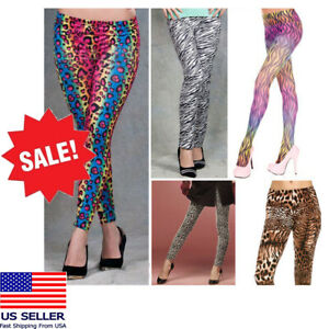 Sexy-Animal-Print-Pants-Outta-Control-Leggings-Costume-Rainbow-LMFAO-Party-Rock
