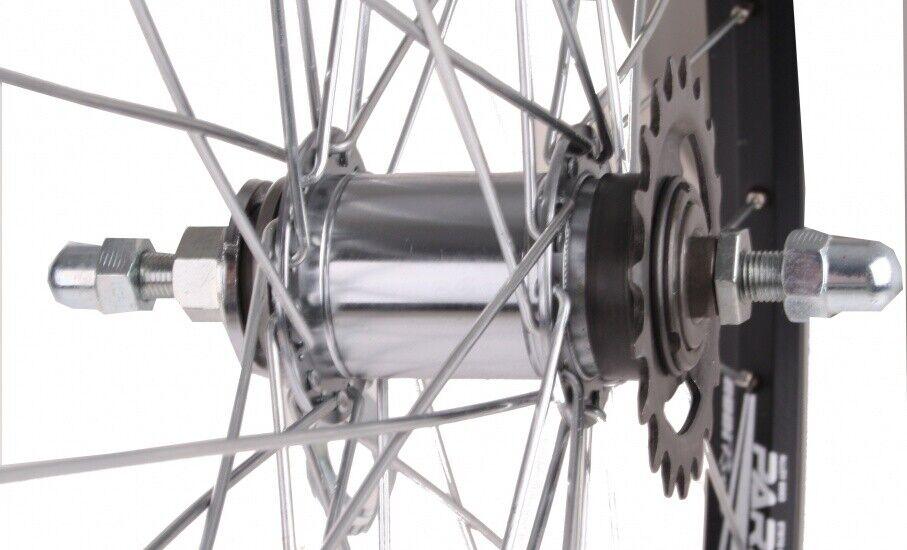 Rodi Hintere Parallex 28 - Zoll - Aluminium - Bremspedal 36G schwarz