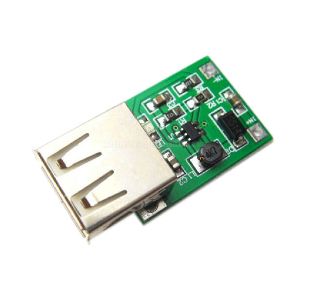 2x 600mA 0.9V-5V to 5V DC-DC Converter Step Up Boost Module with USB parts new
