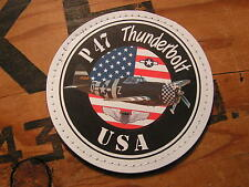 "SNAKE PATCH - PVC "" P47 THUNDERBOLT "" USAF ww2 WARBIRD US AIR FORCE Avion Pilote"