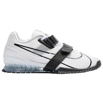 Nike Romaleos 4 White/Black/White Lifting Powerlifting Workout 2020 All New  | eBay