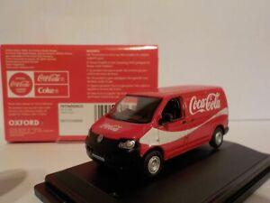 Model-Car-VW-T5-VAN-Coca-Cola-1-76-New