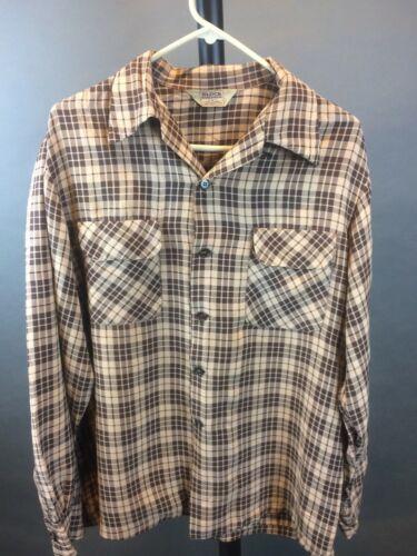 "Vintage 1950's ""Block Randomwear"" Men's Gabardine"