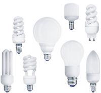 Müller-Licht Energiesparlampe Kerze/Rohr/Spirale/Birne E27/E14/GU10 Energy Saver