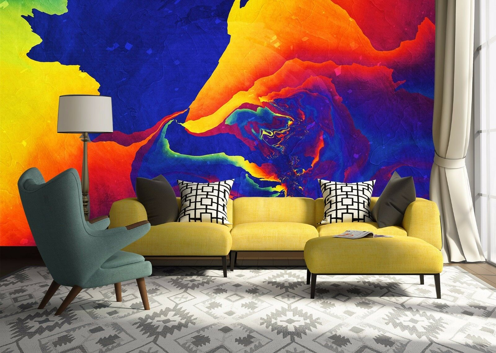 3D Abstract Artwork 76 Wall Paper Murals Wall Print Wall Wallpaper Mural AU Kyra