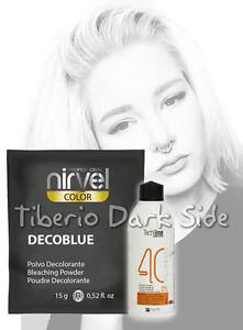 Kit-Polvo-Decolorante-Nirvel-Deco-Blue-Oxigenada-Crema-40-vol-Aclarar-Cabello