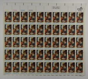 US SCOTT 1414a PANE OF 50 CHRISTMAS NATIVITY PRECANCEL STAMPS 6 CENTS FACE MNH