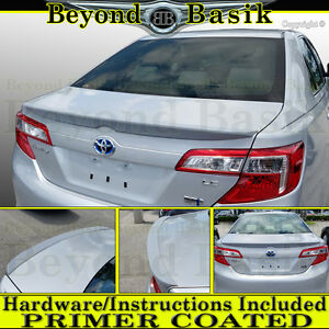 TOYOTA CAMRY 2-POST FACTORY STYLE UNPAINTED REAR WING SPOILER 2012-2014