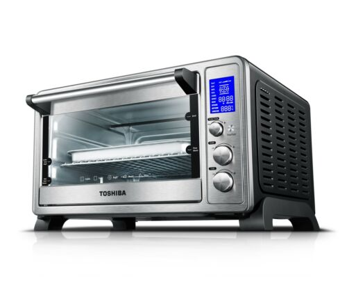 Toaster Oven 6 Slice Convection Extra Large Capacity Digital Temperature Monitor