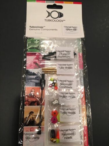 Nouveau TUBEOLOGY Rookie Kit for fly tying Tube Flies-Débutant ou professionnel