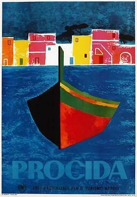 TV95 Vintage 1960's PROCIDA Naples Italian Italy Travel ...