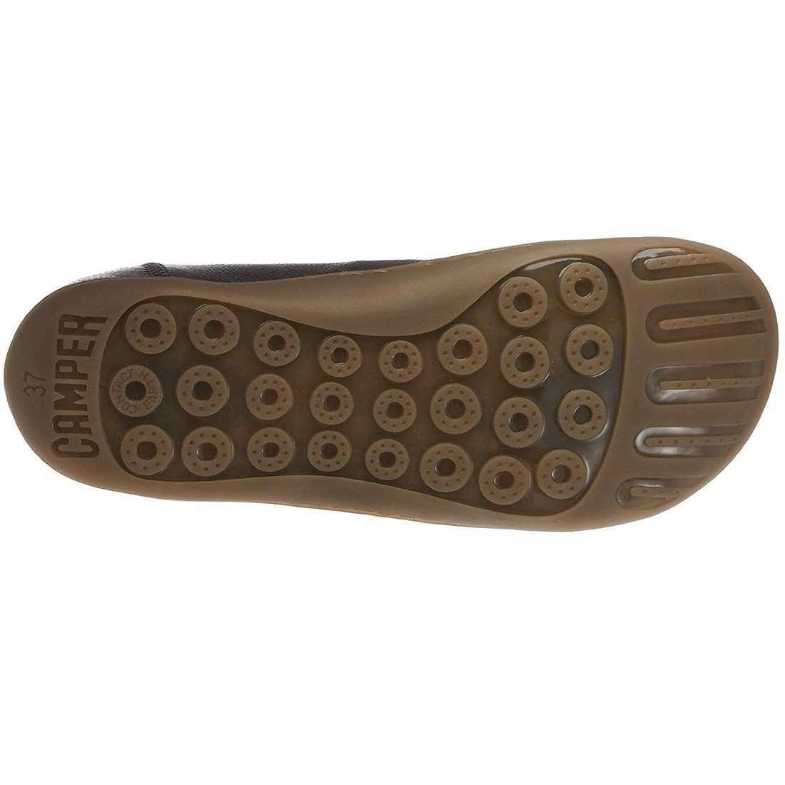 CAMPER femme neuves PEU CAMI en Cuir Premium Casual Confort Confort Confort Quotidien Chaussures 3f4259