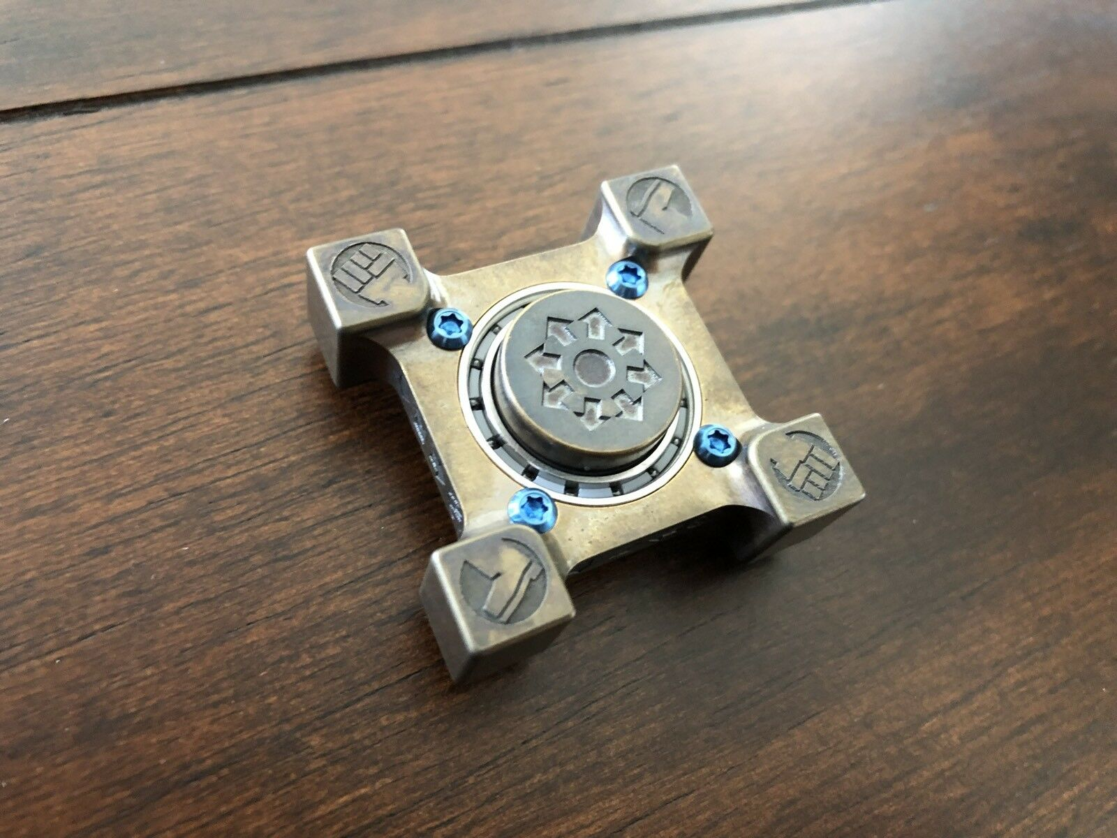 STEEL FLAME WES Killbox RING SPIN Spinner