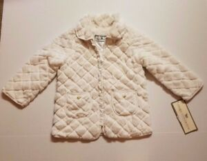 bbaa54ae8 AMERICAN WIDGEON INFANT OR TODDLER GIRLS EASTER FAUX FUR COAT 24M OR ...