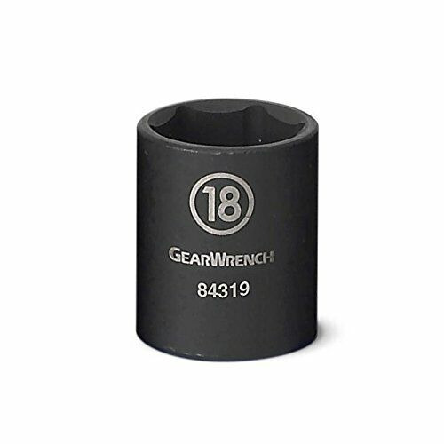 "Gearwrench 84311N 3//8/"" Drive 6 Point Standard Impact Metric Socket"