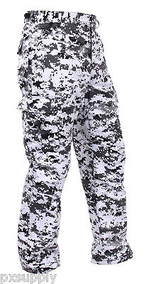 bdu pants pant military style cargo city digital camouflage camo rothco 99630