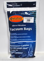 Kenmore Blue Magic Vacuum Cleaner Bags Ker-1419