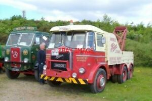 PHOTO-2006-FODEN-LORRY-HKO-138-amp-ATKINSON-LORRY-ACK-864VINTAGE-COMMERCIAL-VEHIC