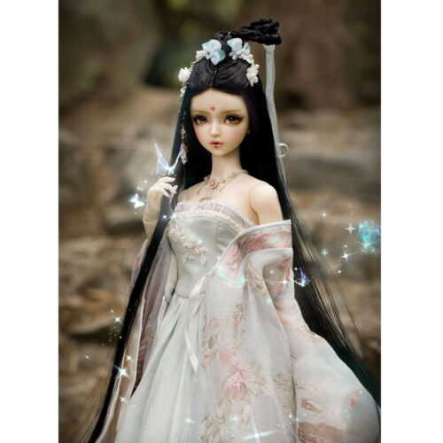 Eyes 1//3 BJD Dolls Girl HuaRong Female Resin Unpainted Body Doll Face Makeup