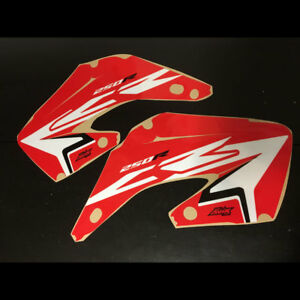 Honda CR250 2002-2012 shroud graphics FREE SHIPPING!!! Special Low Price!!!