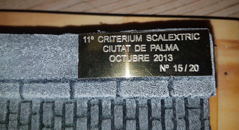 SEAT 850 COUPE COUPE COUPE 11 CRITERIUM CIUTAT DE PALMA SCALEXTRIC ED. LIMITADA 20 UNIDADES 7171fe