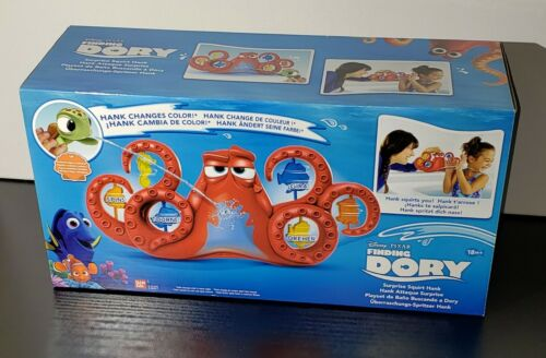Finding Dory Surprise Squirt Hank Bath Playset New Bath Time Toy Disney Pixar
