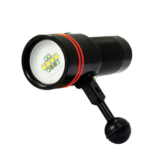 Archon W40V D34V Scuba Diving Photography Underwater Video LED Flashlight Torch