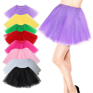 799d8372c8 Womens Adults Girls Tutu Skirt Princess Dressup Party Costume Ballet ...
