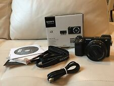 Sony Nex 6 E PZ 16-50mm F3.5-5.6 OSS Power Zoom Lens Kit Camera