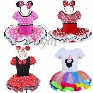 baby girl toddler minnie mouse party costume ballet tutu