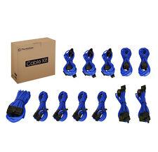 Thermaltake Individually Sleeved 12pcs Blue Cable Set (AC-032-CN5NAN-PB)