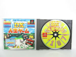 DX-THE-GAME-OF-LIFE-Jinsei-Playstation-PS-1-Japan-Game-p1