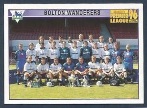MERLIN-1996-PREMIER-LEAGUE-96-508-BOLTON-WANDERERS-TEAM-PHOTO