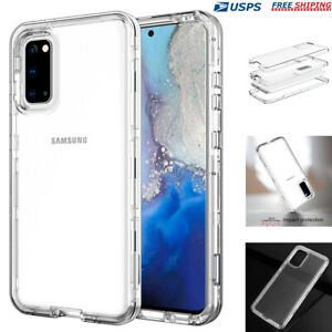 For Samsung Galaxy S20+ Note 20 Ultra  Heavy Duty Shockproof Clear Case Cover