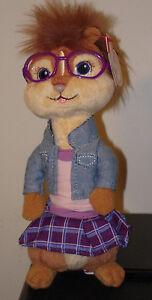 Ty Beanie Baby ~ JEANETTE ~ Chipette Alvin and the Chipmunks MINT (STICKER)~ NEW