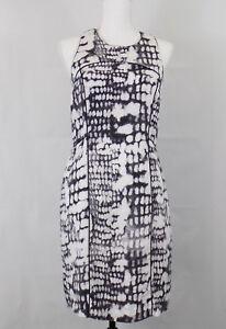 Image Is Loading Cynthia Rowley Womens Sheath Dress 6 Snake Print