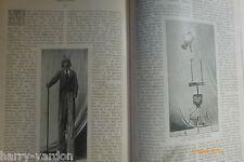 Travelling Side Shows Freaks Show Weird Circus Victorian Rare 1897 Stilt Walking