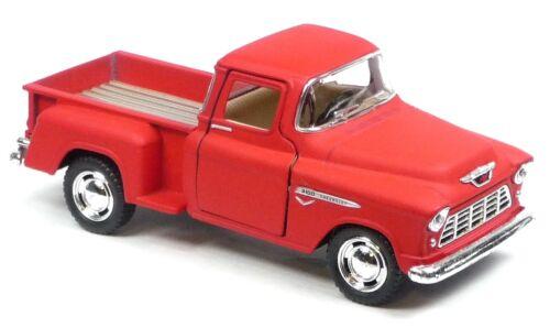 NEU 1955 Chevrolet 3100 Pick-Up Sammlermodell 1:32 Stepside rot matt KINSMART
