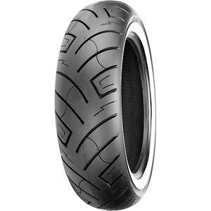 Shinko 130 80 17 White Wall 777 Front Motorcycle Tire Bias Ebay