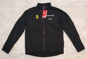 Puma-Men-039-s-039-Ferrari-Challenge-039-Jacket-02-Team-Ferrari-Black-Size-XXS