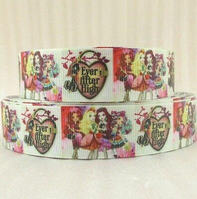 """Sale 3 Yards....7//8/"""" Printed Colorful Happy Birthday Grosgrain Ribbons Lisa"""