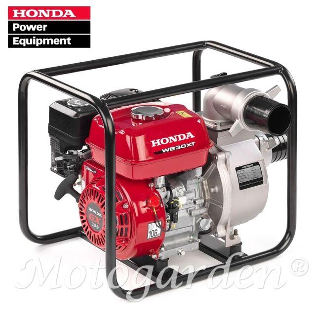 Motopompe Honda WB30XT jusqu'à 1100 litres au minute pour irrigation