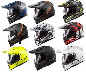 LS2-MX436-PIONEER-TRIGGER-OFF-ROAD-DUAL-SPORT-MOTORCYCLE-DUAL-VISOR-QUAD-HELMET