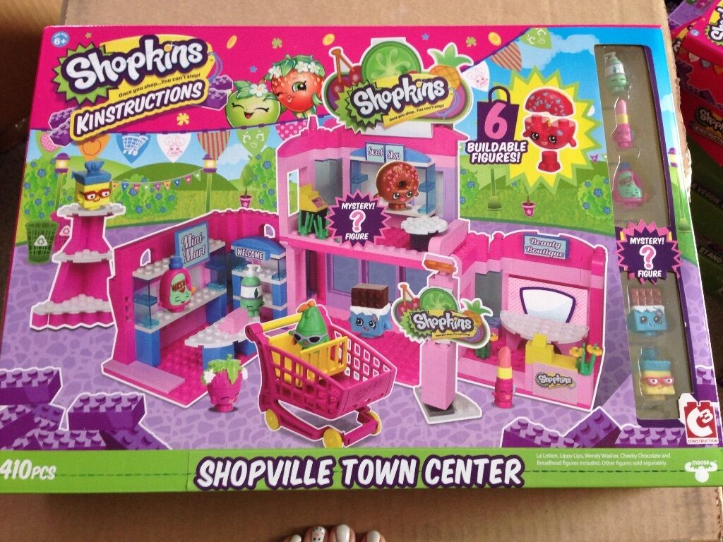 Shopkins Kinstructions Shopville Town Center