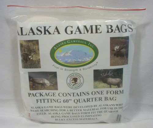 "Alaska Game Bag Single Rolled 60/"" Quarter Elk Moose Caribou Hunting Packing"