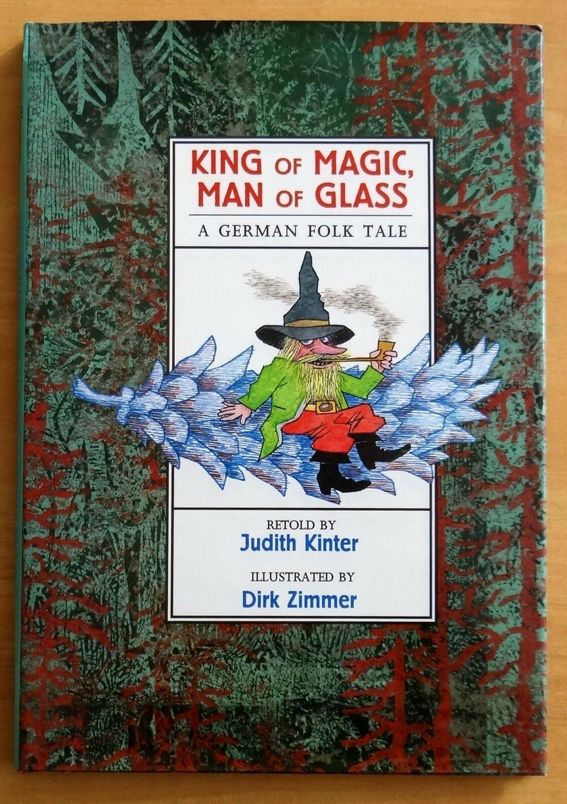 Children young adults books king of magic man of glass a german folk tale by judith kinter hc jeuxipadfo Images